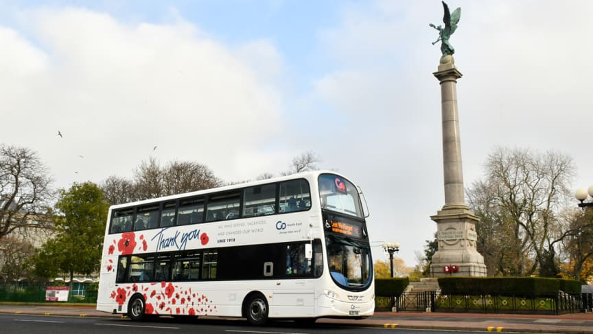Go North East to recognise Remembrance Sunday