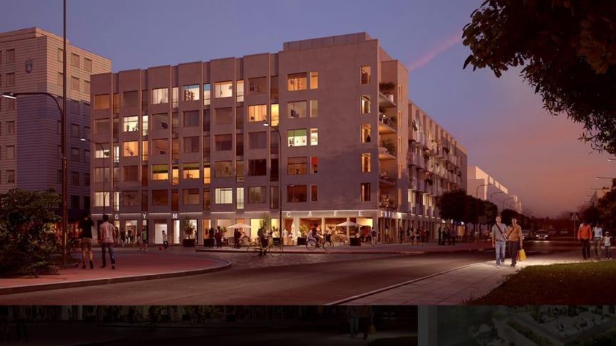 Byggstart närmar sig för Riksbyggens Brf Ljuspunkten i Upplands Väsby