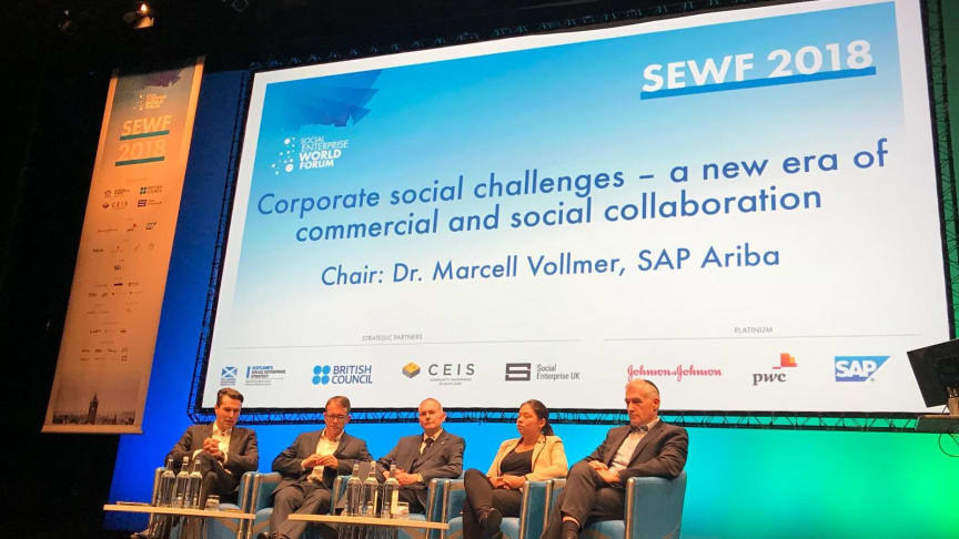 SAP og Social Enterprise World Forum (SEWF) har indledt et treårigt partnerskab, hvor SAP vil fungere som teknologipartner for SEWF.