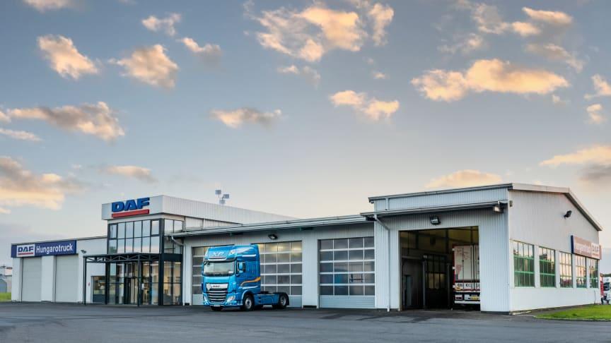 DAF Trucks öppnar ny egenägd återförsäljare i Ungern