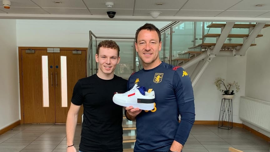 Entrepreneurial Business Management student from Northumbria University selling to John Terry