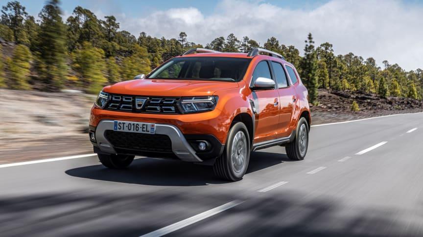 Facelift til Dacia Duster uden merpris
