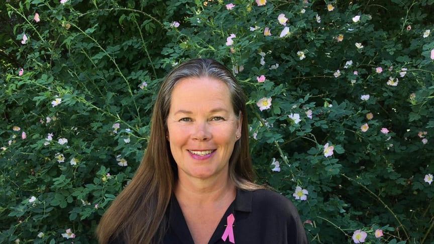Marit Jenset, Bröstcancerförbundets generalsekreterare. Fotograf: Greta Jenset Petrén