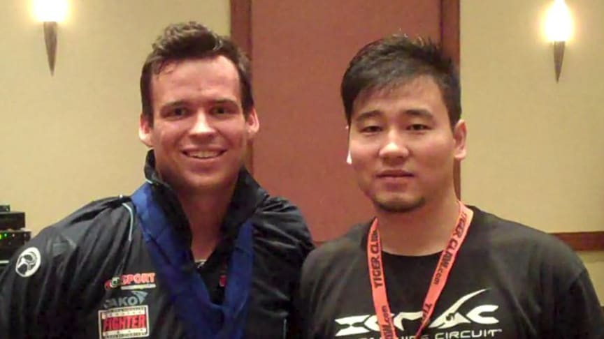 Wushu utøveren Kim Gibson imponerte i USA