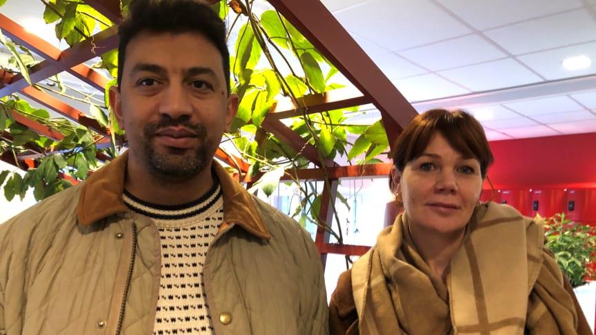 Företaget Ayanna Home, dvs Alia och Anna Ghareib startar härbärge i Ursviken, utanför Skellefteå.