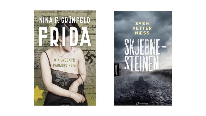 Aschehoug forlag. Nye bøker uke 11