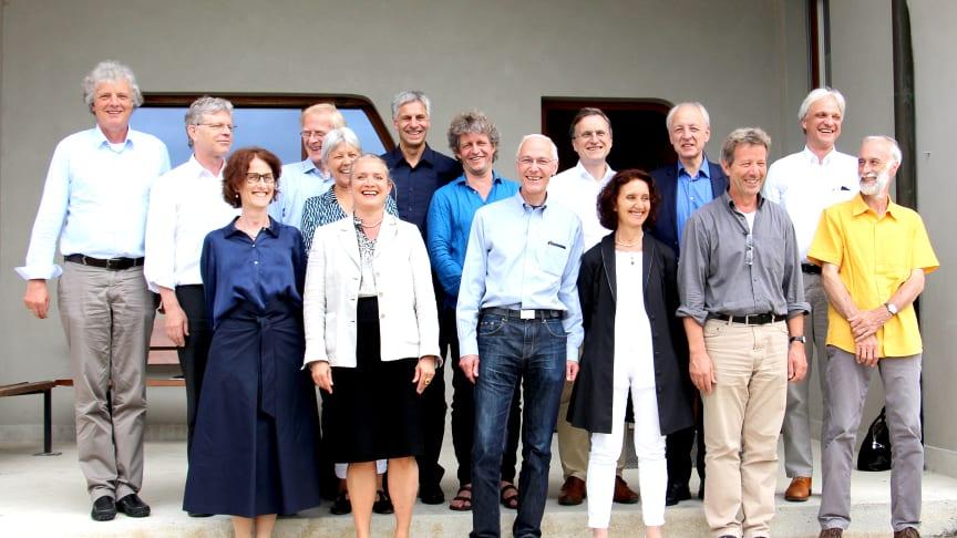 Goetheanum-Leitung nach der Klausur am 11. und 12. Juni 2018 (Foto: Sebastian Jüngel)