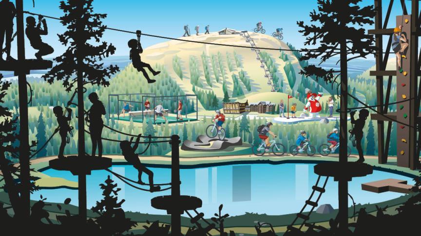 SkiStars sommarsatsning ännu mer lättillgänglig: BRA lanserar sommarflyg till Scandinavian Mountains Airport