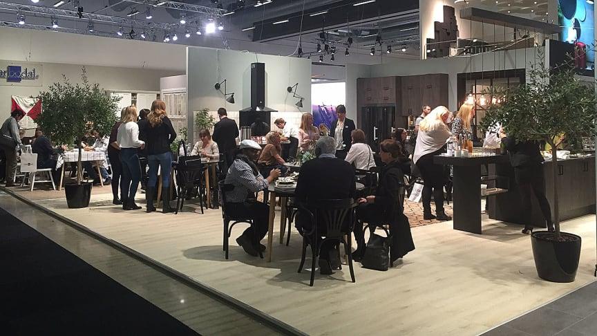 Lyckat mässdeltagande för Marbodal på Stockholm Furniture Fair:  Smarta lösningar som skapar det rätta flytet i köket