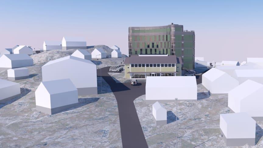 Best Western Plus Hotel Ilulissat blir centralt beläget i Ilulissat