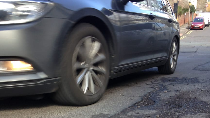 Damage due to potholes tops the list of bugbears for business fleet owners