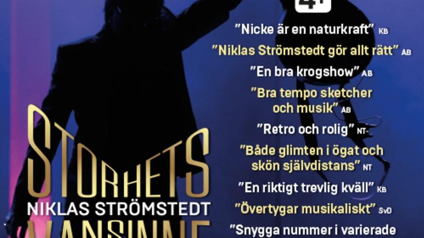 Niklas Strömstedt Storhetsvansinne