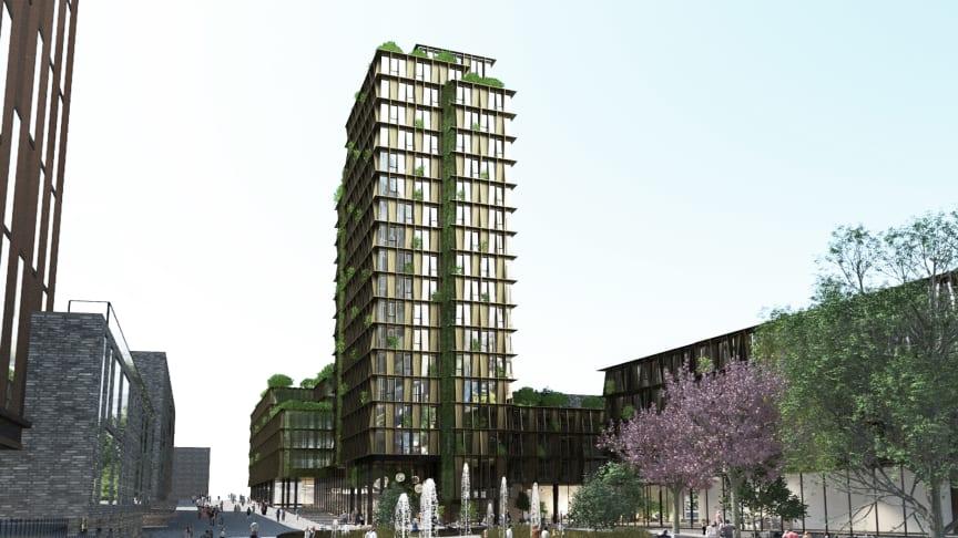 BaseCamp Aarhus rendering