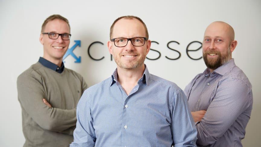 Grundarna Johan Jonzon, Martin Thunman och Ulf Björklund