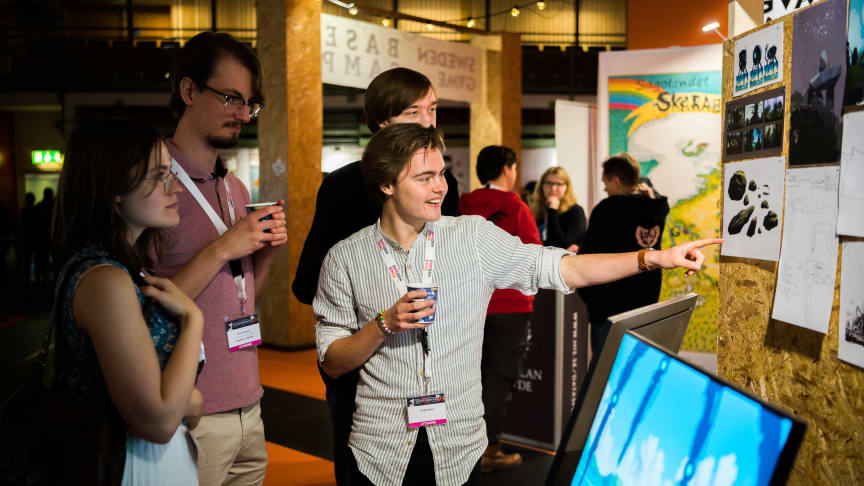 Swedish startups supported through Sweden Game Pitch
