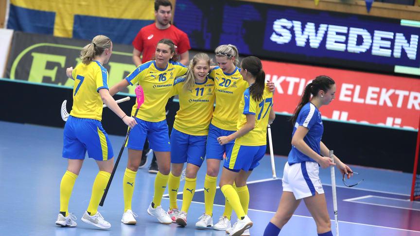 Sveriges U19-landslag besegrade Finland i Finnkampen, 7-2.