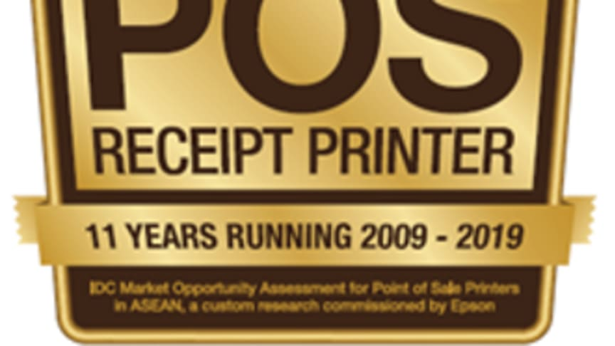 Epson maintains lead for Point-of-Sale Printer Category in Southeast Asia in 2019