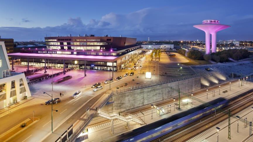 """Malmö stad har tillsammans med Event in Skåne beviljats 2 miljoner från Tillväxtverket för projektet """"Restart Hyllie"""" som ska ladda och lyfta Hyllieområdet och dess aktörer ur krisen. Foto: Werner Nystrand"""