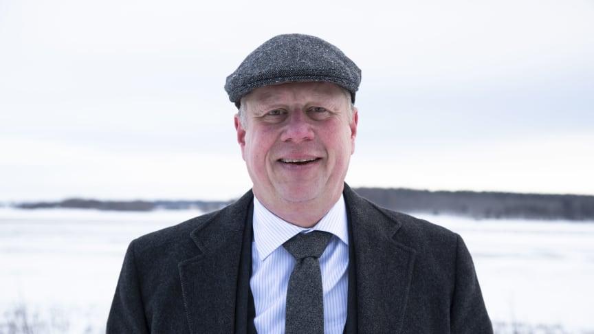 Lars Svensson, vd Sh bygg, sten och anläggning AB. Fotograf: Lina Börjesson