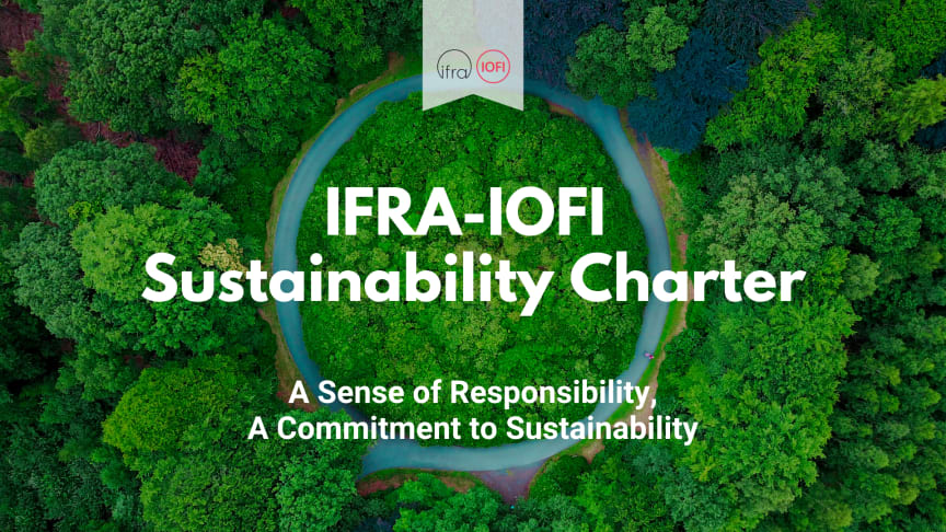 Fragrance and flavor industries launch new Charter committing to a more sustainable future
