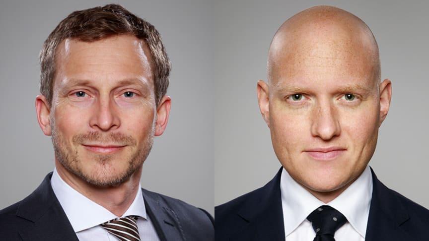 Tobias Hamrin och Johan Engdahl