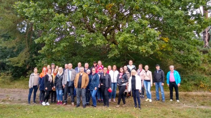 Turismföretag vid Kinda Kanal inspireras av tysk naturturism