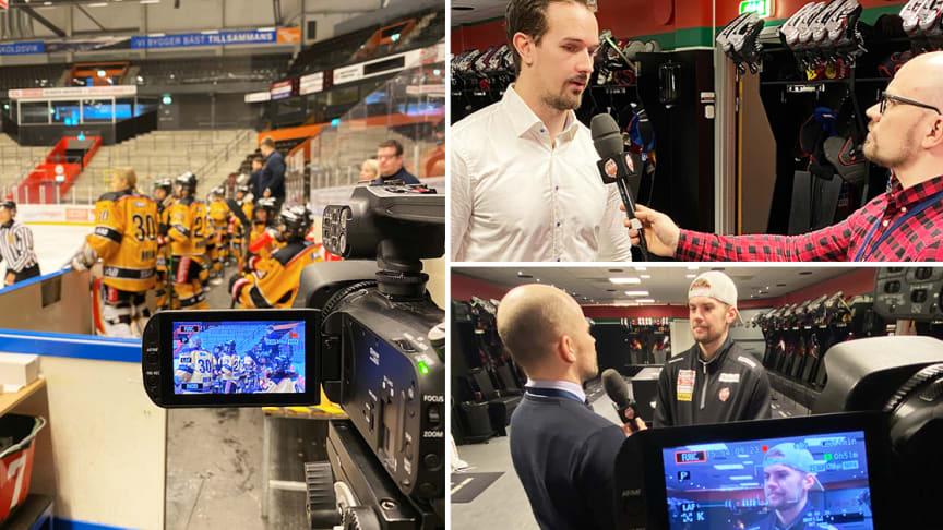 """Så blev Modo Hockey digitala pionjärer: """"Många frågar om vår satsning"""""""