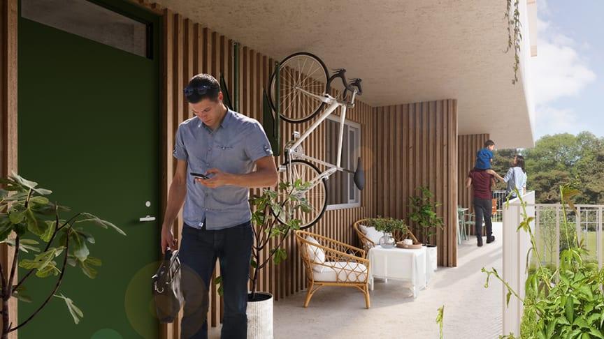 Lyckos bygger ett flerbostadshus med lägenheter i en första etapp.