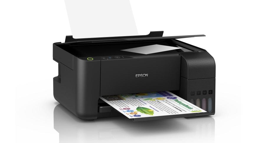 Epson's EcoTank L3110 / L3150 Ink Tank Printer