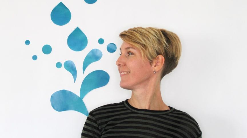 Kristina Hall, programledare för VA SYDs skyfallshantering Tillsammans gör vi plats för vattnet.