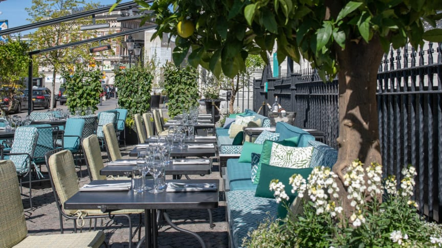 Grand Hôtel Opens the Terrace for the Season with a Brand-New Concept