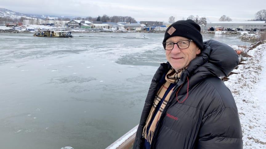Prosjektleder William Kornmo er klar for tredje og siste store miljøopprydding på Gilhus siden den første i 2007.