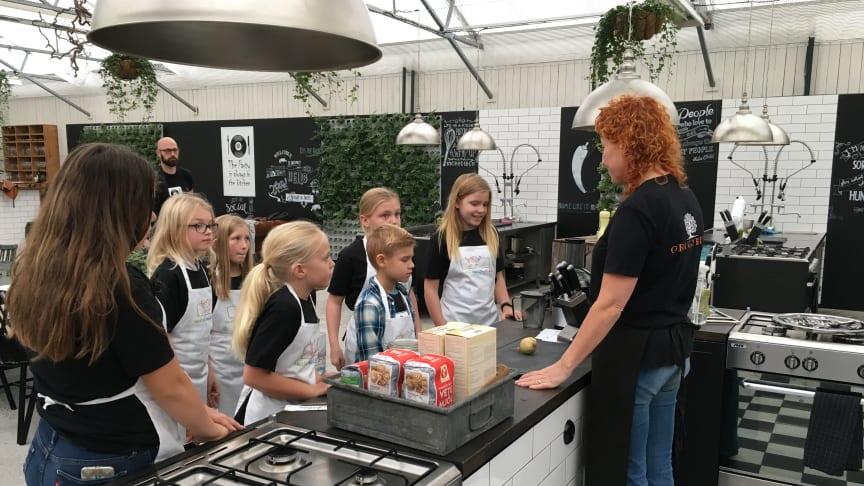 Kockar lär barn äta varierat