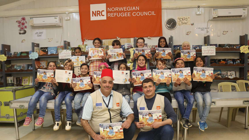 Systematic uddeler 10.000 US dollars til håb og læseglæde i en af verdens største flygtningelejre