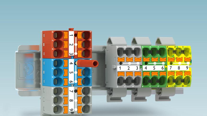 Potentialfördelningsblock - PTFIX 6X10/S