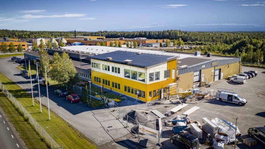 Engcon miljoninvesterar i Strömsund – stärker sin svenska bas med kontorsutbyggnad