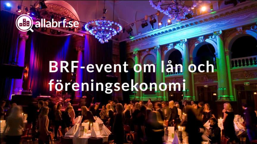 Allabrf Event: BRF-lån och föreningsekonomi