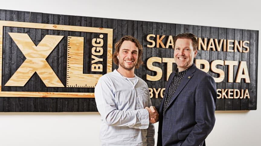 XL-BYGG och Anders Öfvergård i nytt samarbete fr. o. m. april 2016