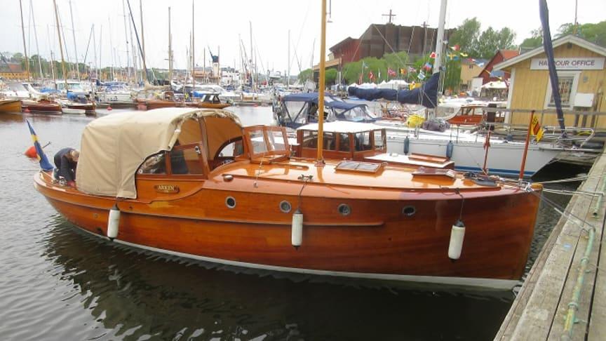 Årets veteranbåt 2019: Arken från 1926.