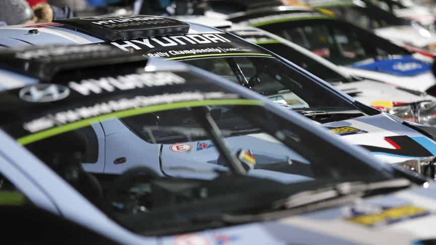 Hyundai klar for nye rallyutfordringer i Mexico
