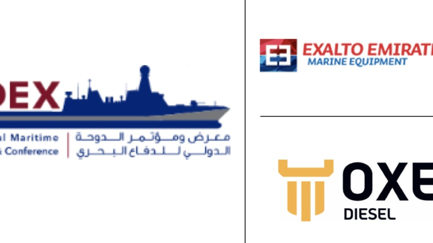 OXE Diesel displayed at DIMDEX by Exalto Emirates, 16 - 18 March