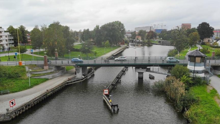Ny tidplan för ombyggnationen av Skebäcksbron
