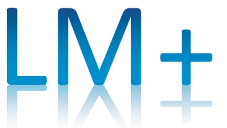 Logo der LM+ Leistungsmanagement GmbH, Essen