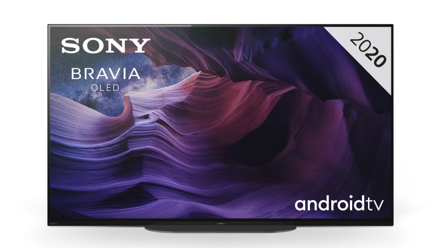 Ab sofort in der Schweiz vorbestellbar: Der kompakte 48 Zoll 4K HDR OLED-Fernseher A9 aus der Sony MASTER Series