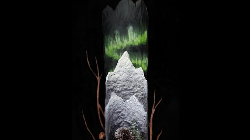 Amanda Falck - chokladstaty inspirerad av Norrlands natur