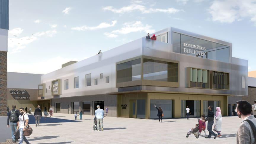 Rosengårds bibliotek byggs om