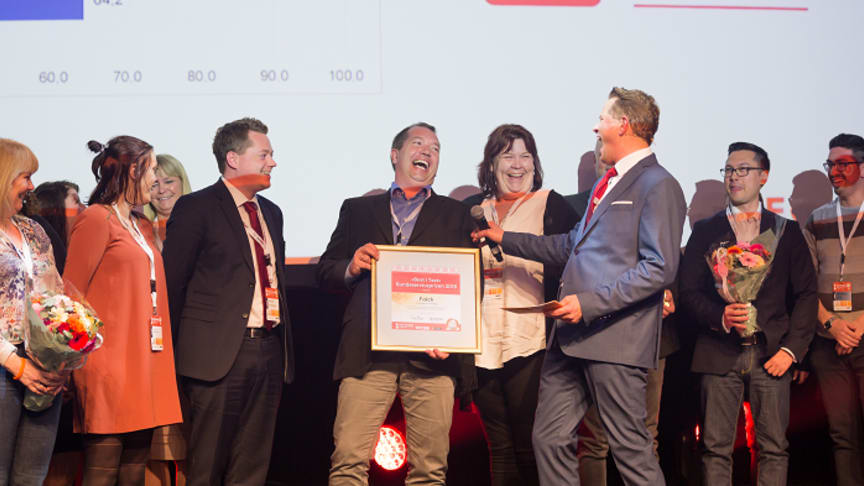 Falck in Norway wins award for customer service