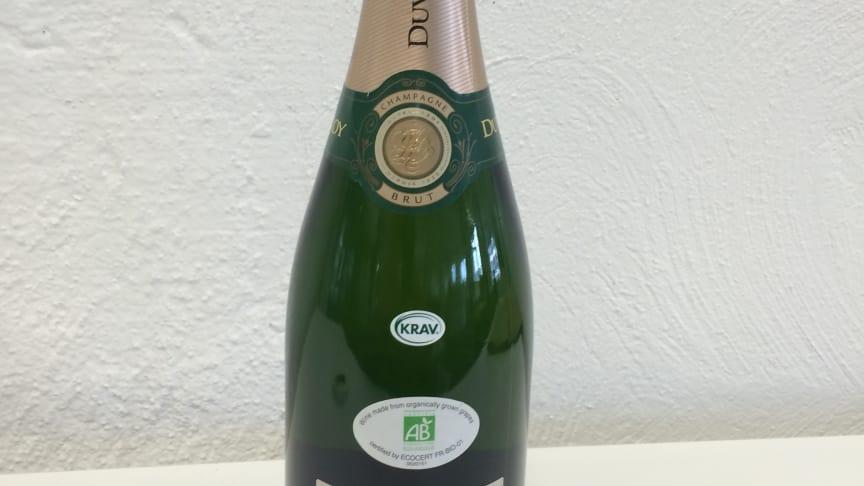 Den första KRAV-märkta champagnen på länge