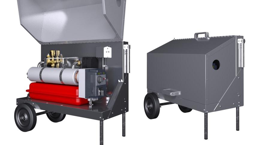 LK EasyHeat 460, portable boiler