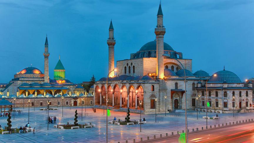 Den nya direktlinjen till Konya kommer trafikeras på onsdagar från Arlanda